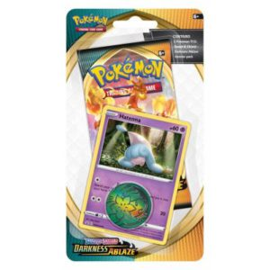 pokemon-checklane-blister-pack-1-pack-with-holo-hatenna-sword-and-shield-darkness-ablaze