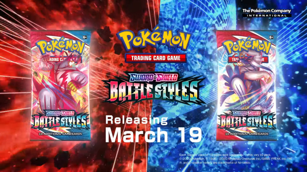 Pokemon Sword & Shield Battle Styles announced