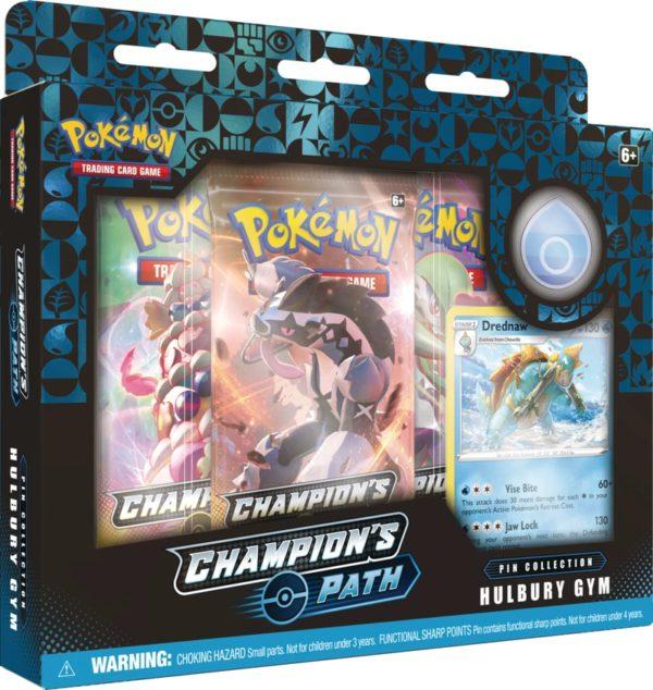 Champion's Path Pin Box Hulbury Gym legion cards