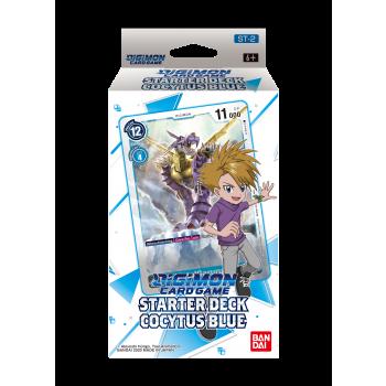 Digimon Card Game Cocytus Blue Starter Deck-legion-cards