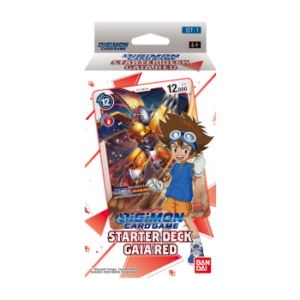 Digimon Card Game Gaia Red Starter Deck legion cards