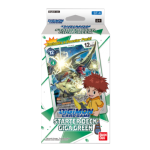 Digimon Card Game - Starter Deck Display Giga Green