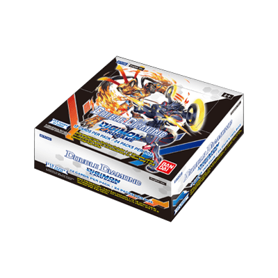 Digimon card game double diamond booster box bt06