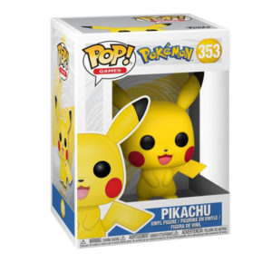 Funko POP! Pokemon - Pikachu #353 Figure box Legion Cards