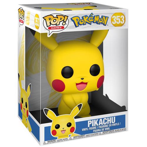 Funko POP! Pokemon - Pikachu #353 Supersized Figure Box Legion Cards