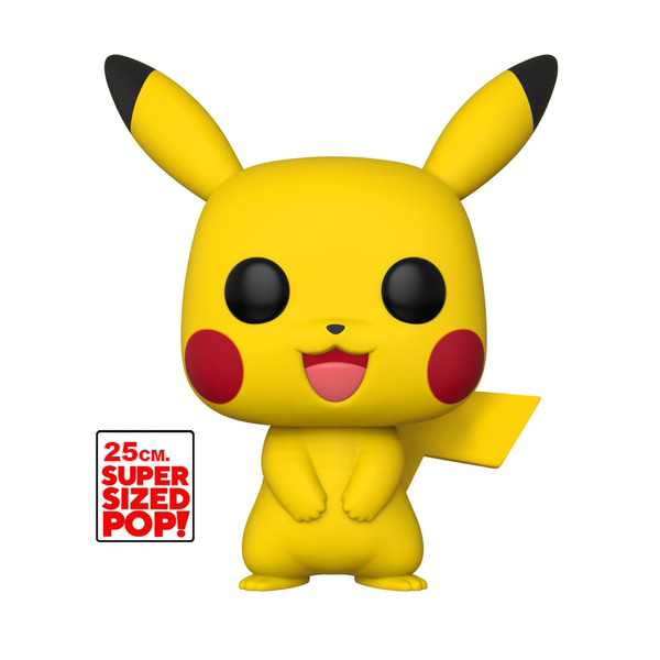 Funko POP! Pokemon - Pikachu #353 Supersized Figure Legion Cards