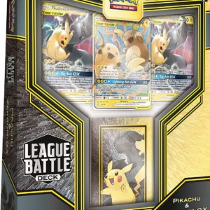 Pikachu & Zekrom GX League Battle Deck