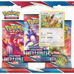 Pokemon Battle Styles 3-Booster Blister Eevee