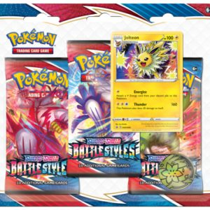 Pokemon Battle Styles 3-Booster Blister jolteon