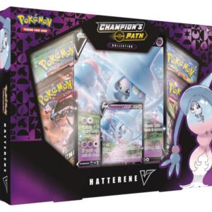 Pokemon Champion's Path Hatterene V Collection Box