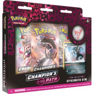Pokemon Champion's Path Pin Box Spikemuth Gym