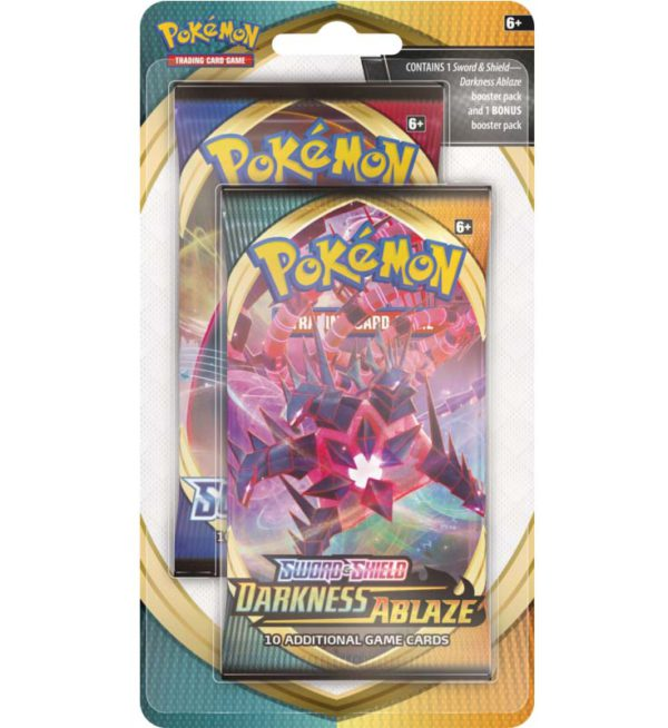 Pokemon Darkness Ablaze 2-Pack Blister