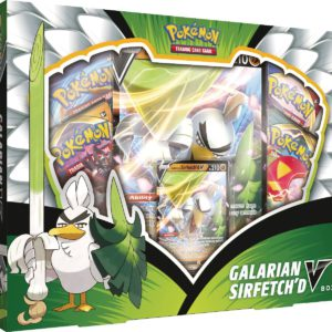Pokemon Galarian Sirfetch'd V Box legion cards