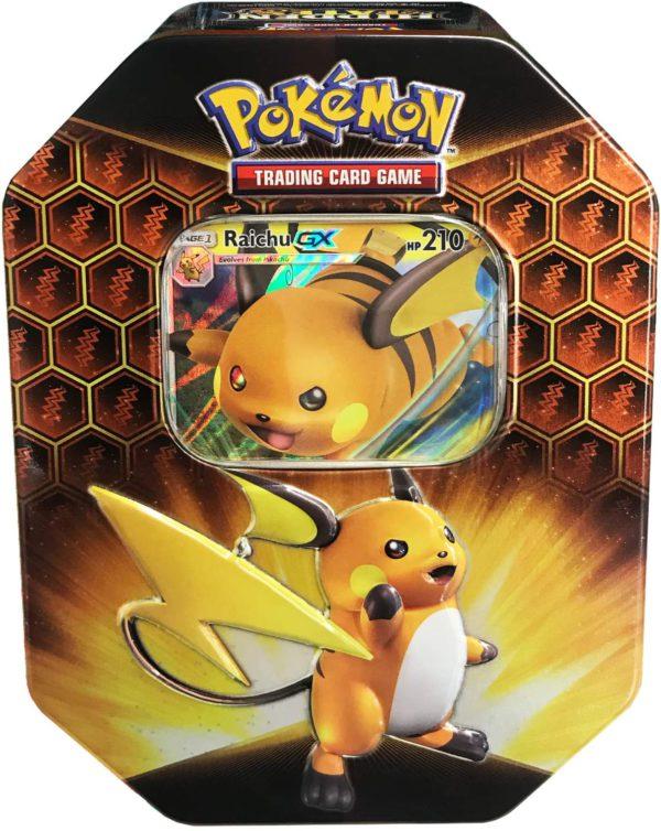 Pokemon Hidden Fates Tin Raichu