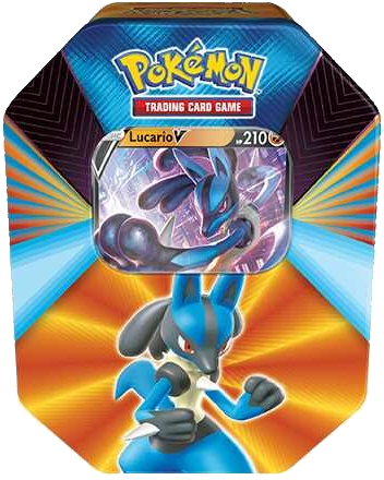 Pokemon Spring 2021 Tin - Lucario V