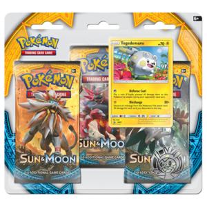 Pokemon Sun & Moon Base - Togedemaru 3 Pack Blister