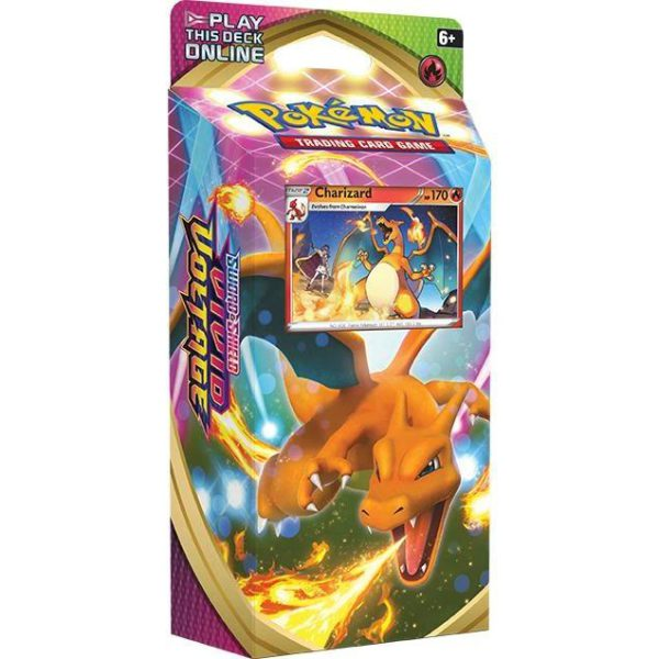Pokemon Sword & Shield Vivid Voltage Theme Deck Charizard Legion cards