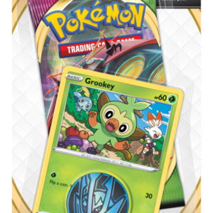 Pokemon Sword and Shield Vivid Voltage Grookey Checklane Blister Pack