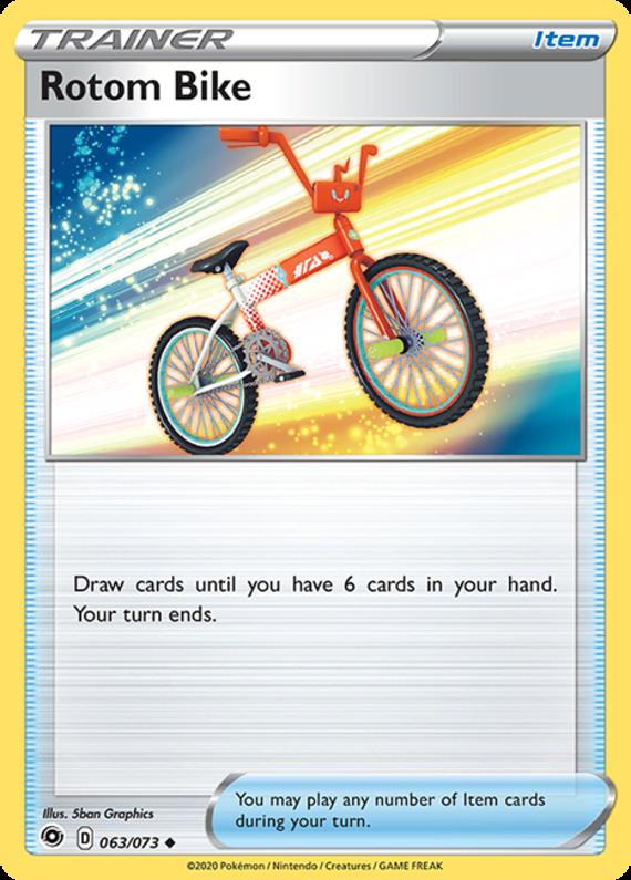 Rotom Bike Reverse 063-073 - Champion's Path
