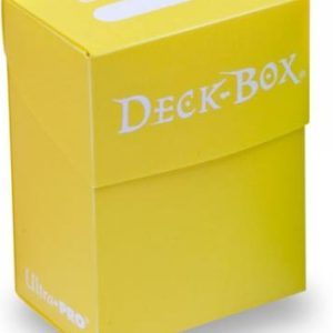 Ultra Pro Bright Yellow Solid Deck-Box-legion-cards-gr