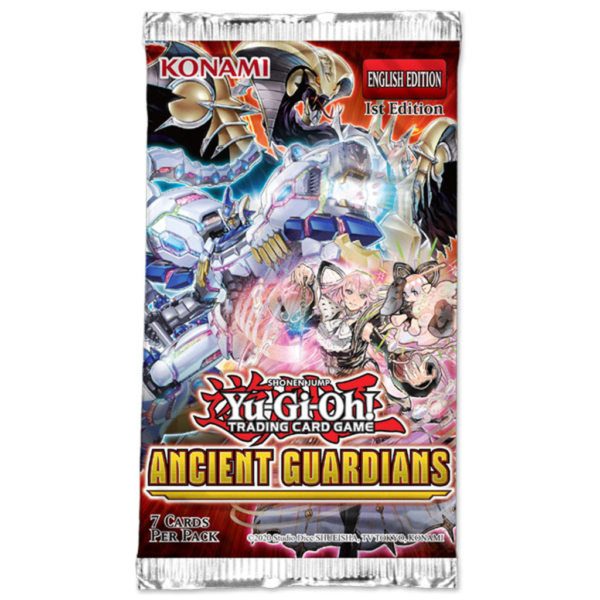 YU-GI-OH ANCIENT GUARDIANS BOOSTER pack