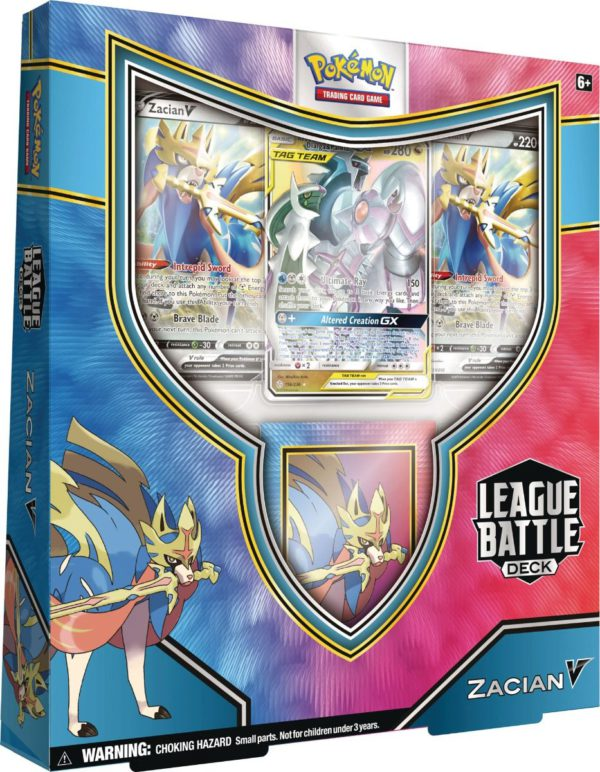 Zacian V League Battle Deck