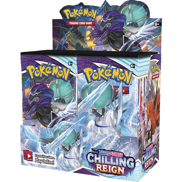 pokemon SS6 Chilling Reign Booster box