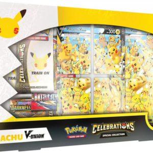 pokemon celebrations Special Collection Pikachu V Union 25th Anniversary