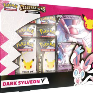 pokemon celebrations dark sylveon v 25th anniversary