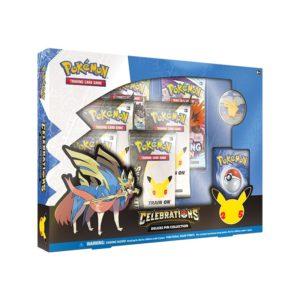 pokemon celebrations zacian pin box