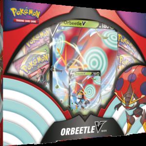 Pokemon Sword & Shield Vivid Voltage Orbeetle V Box
