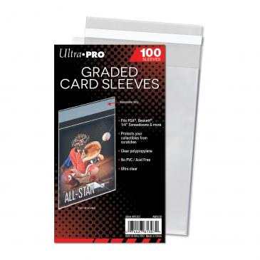 ultra-pro-Graded Card Sleeves Resealable