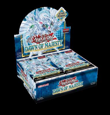 yugioh Dawn of Majesty Booster box